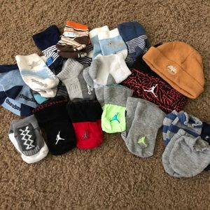 Other - Baby Lot Socks, Hat, Mittens